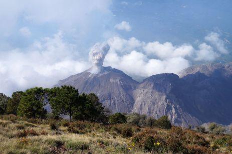 Santiaguito, spektakulärerer Ausbruch