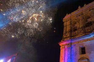 Griteria - Feuerwerk an der Kathedrale