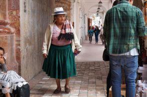 Strassenszene Cuenca