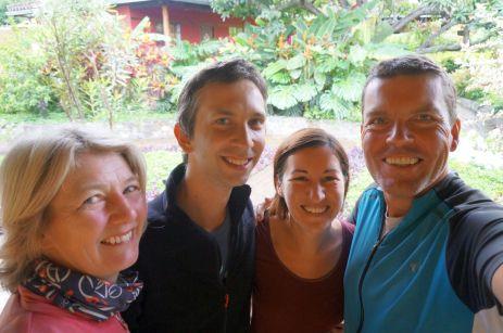 Alina und Camille aus Frankreich; Treffen in Vilcabamba