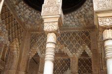 Alhambra in Granada - die Naṣridenpaläste